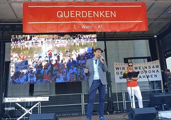 34. Demonstration in Wien