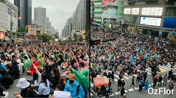 47. Trzeci dzień protestów w Tajlandii