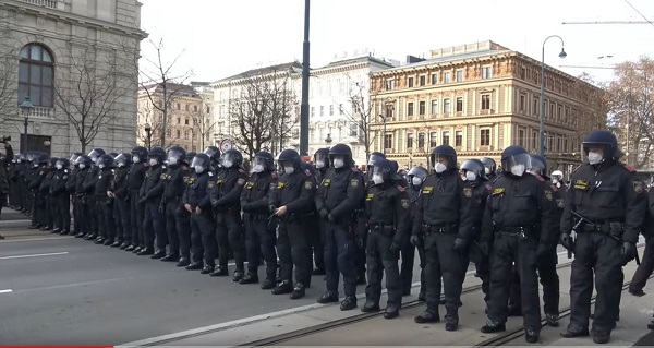 58 Prohibited demonstration
