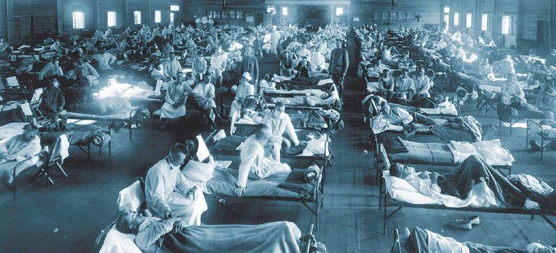 82. Spanische Grippe